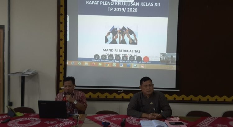 Rapat Pleno Kelulusan